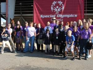Special Olympics Team with Volunteers & Family - 2012