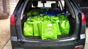Load Up & Presentation of Blessing Bags